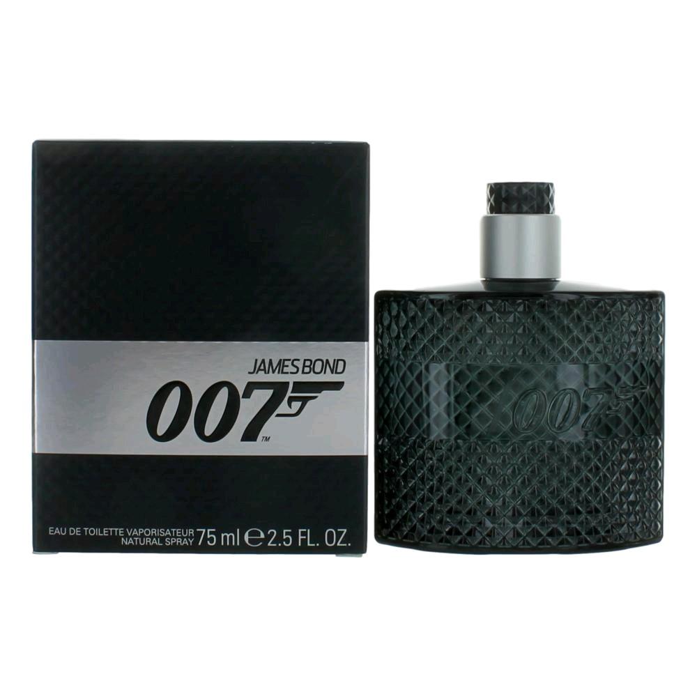 James Bond 007 by James Bond, 2.5 oz Eau De Toilette Spray for Men