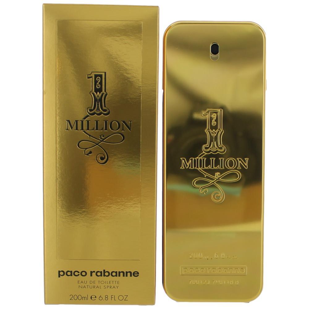 1 Million by Paco Rabanne, 6.8 oz EDT Spray for Men