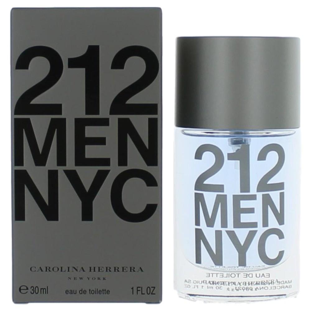 212 by Carolina Herrera, 1 oz EDT Spray for Men