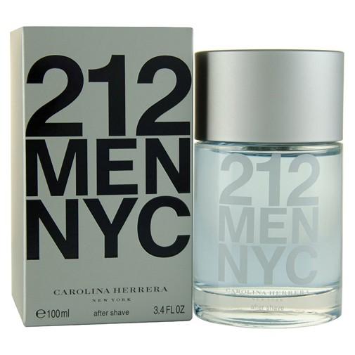 212 by Carolina Herrera, 3.4 oz After Shave Splash for Men