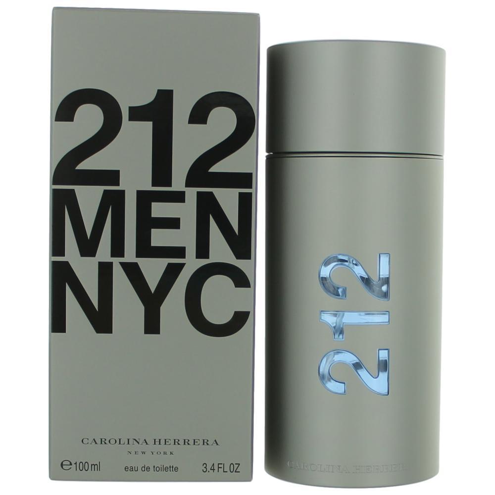 212 by Carolina Herrera, 3.4 oz EDT Spray for Men
