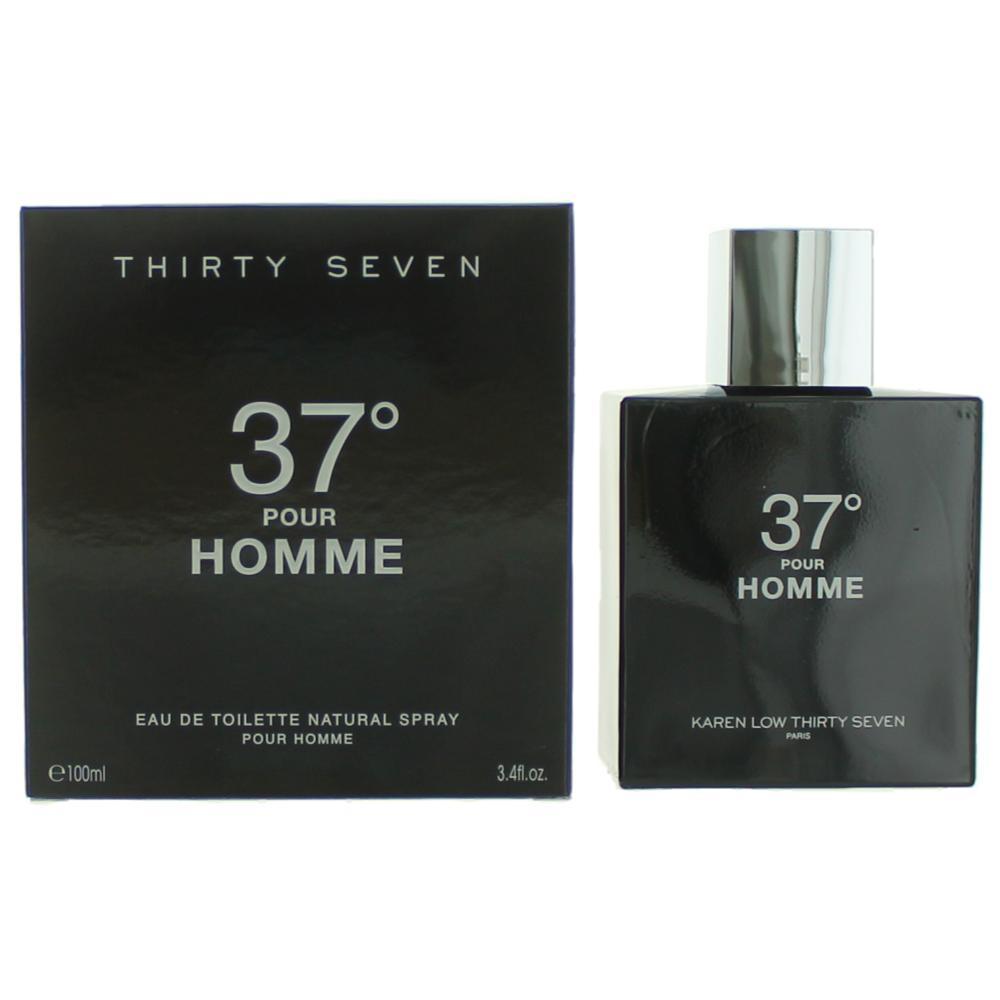 37 Degrees by Karen Low, 3.7 oz EDT Spray for Men