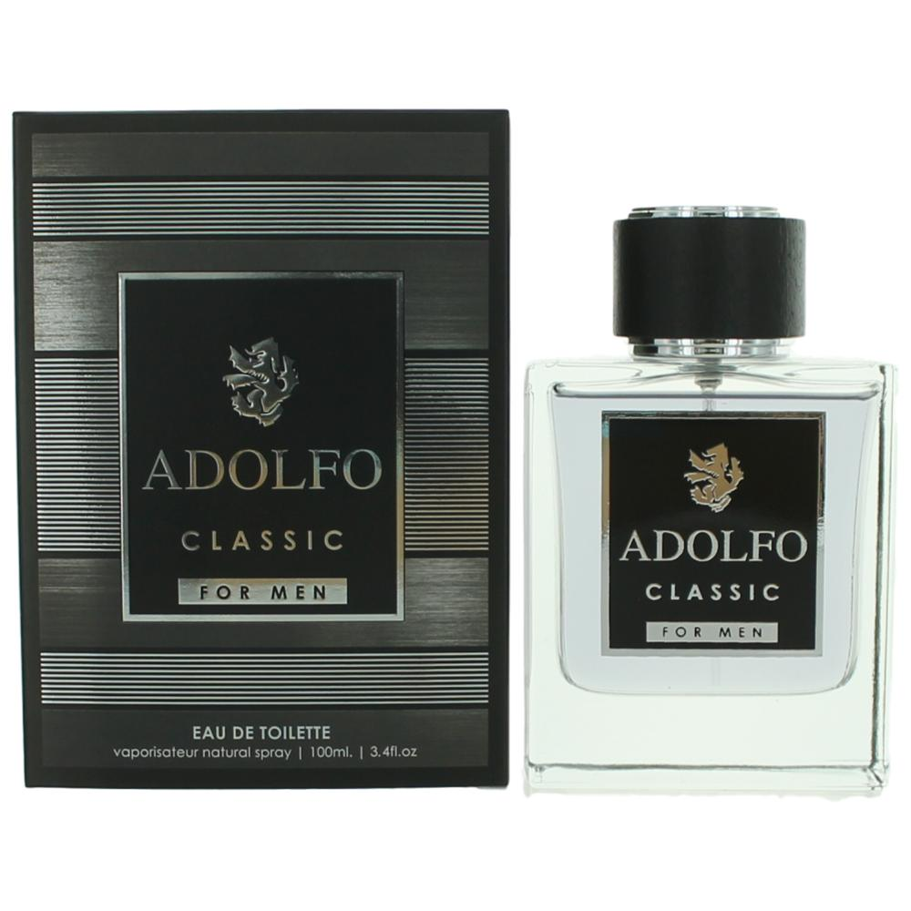 Adolfo Classic by Adolfo, 3.4 oz Eau De Toilette Spray for Men