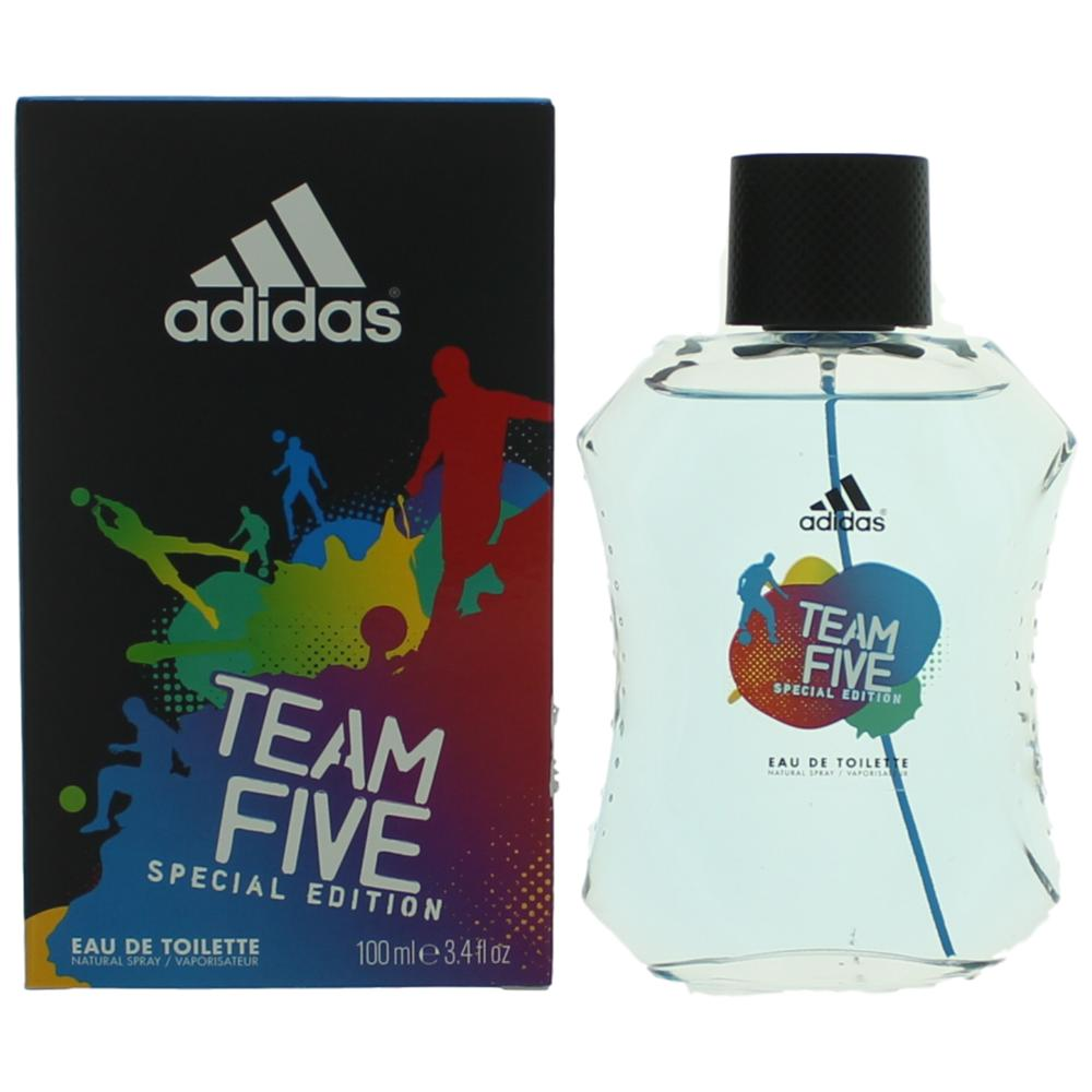 Adidas Team Five by Adidas, 3.4 oz EDT Spray for Men