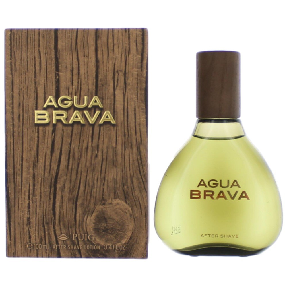 Agua Brava by Antonio Puig, 3.4 oz After Shave Lotion for Men