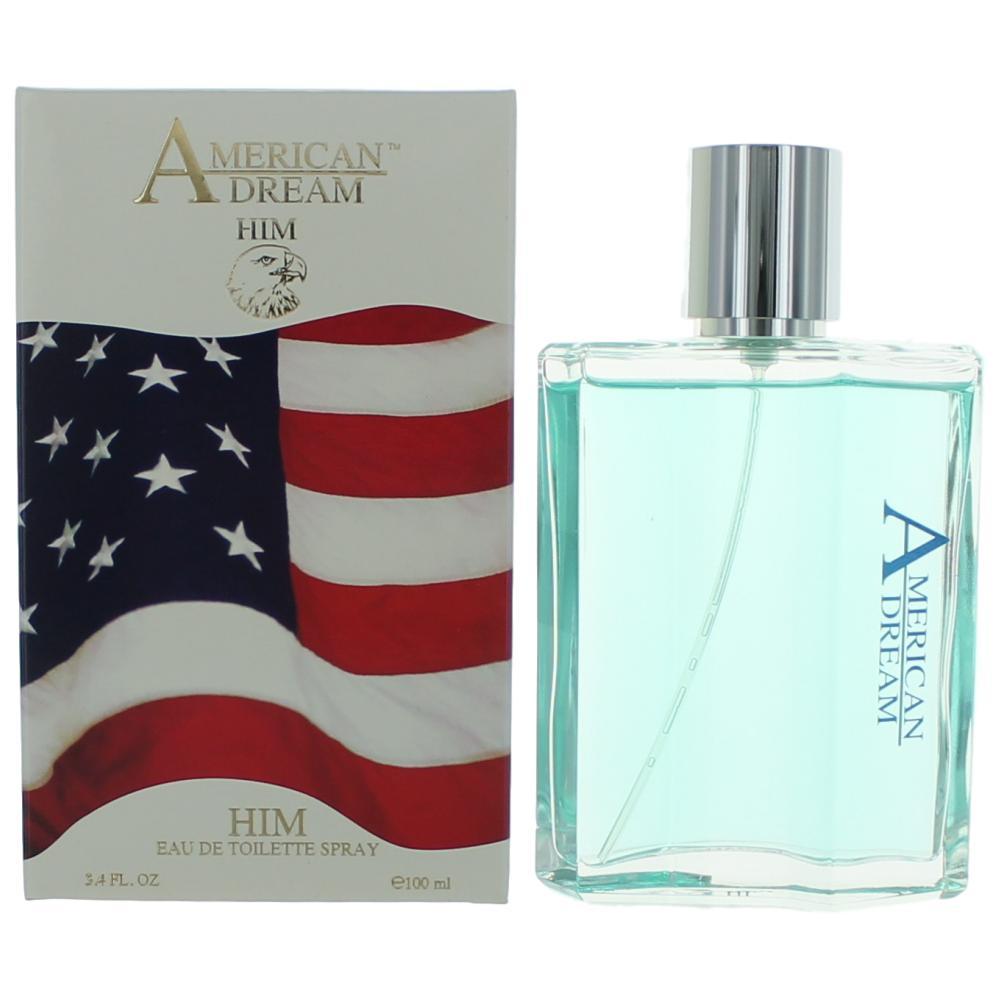 American Dream by American Beauty, 3.4 oz Eau De Toilette Spray for Men