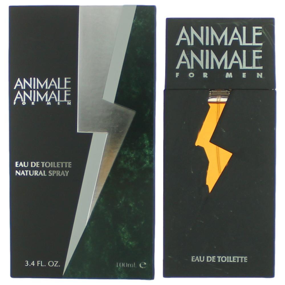 Animale Animale by Animale, 3.4 oz Eau De Toilette Spray for Men