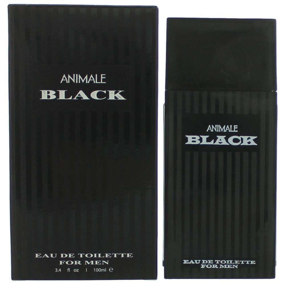 Animale Black by Animale, 3.4 oz Eau De Toilette Spray for Men