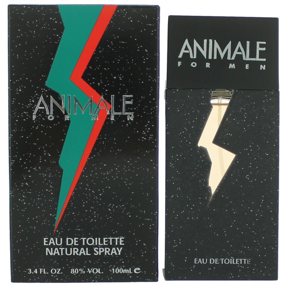 Animale by Animale, 3.4 oz Eau De Toilette Spray for Men