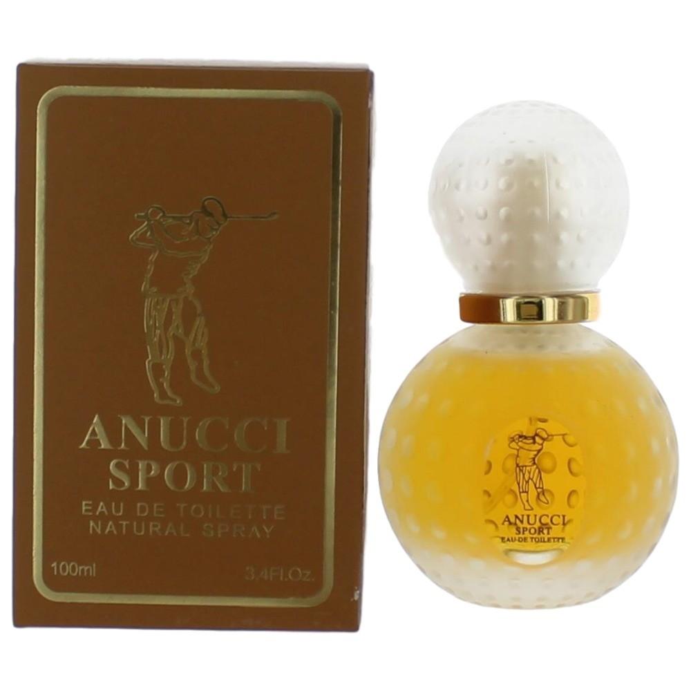 Anucci Sport by Anucci, 3.4 oz Eau De Toilette Spray for Men