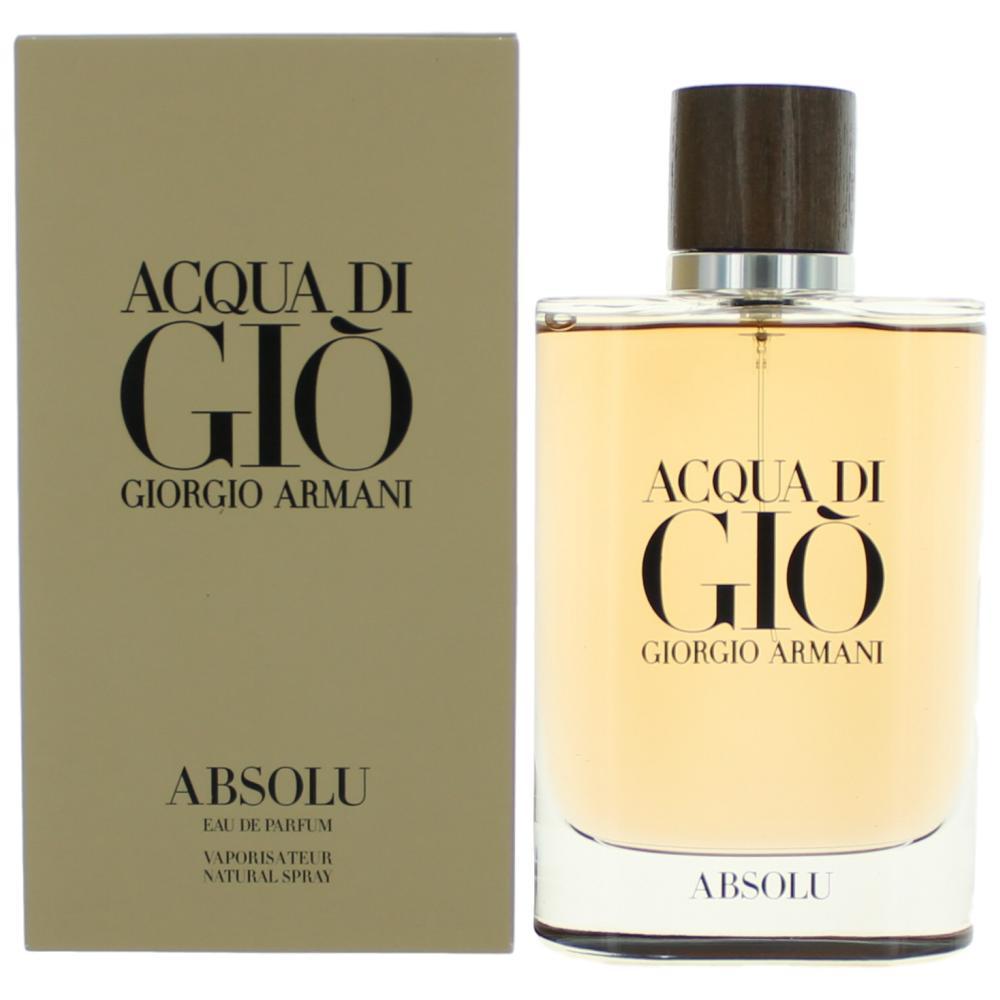 Acqua Di Giò Absolu By Giorgio Armani 2018 Basenotesnet