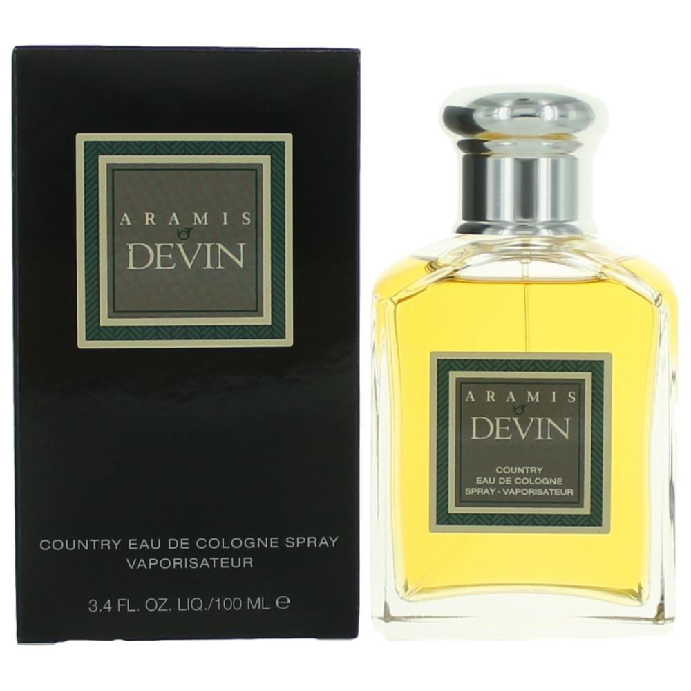 Aramis Devin by Aramis, 3.4 oz Country EDC Spray for Men