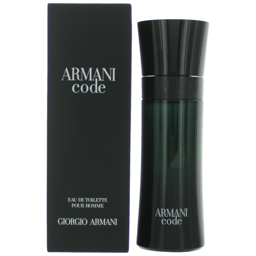 Armani Code by Giorgio Armani, 2.5 oz EDT Spray for Men