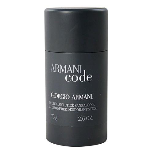 Armani Code by Giorgio Armani, 2.6 oz Deodorant Stick for Men