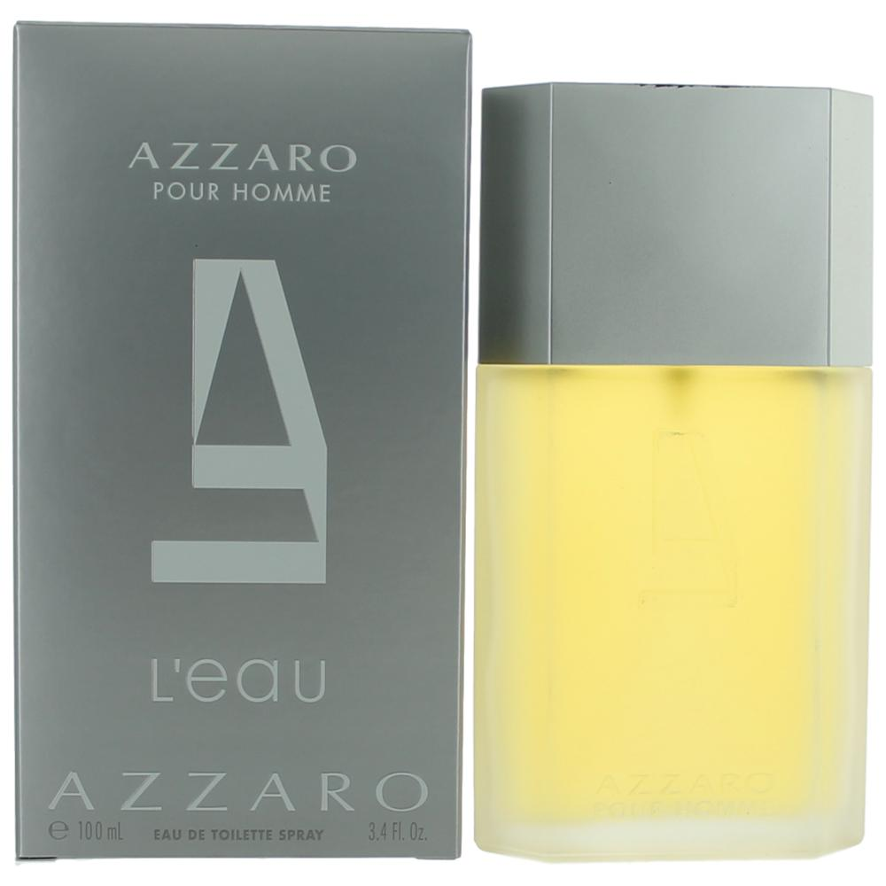 Azzaro L'eau Homme by Azzaro, 3.4 oz EDT Spray for Men