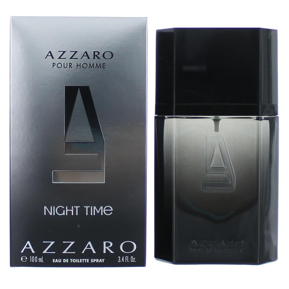 Azzaro Night Time by Azzaro, 3.4 oz EDT Spray for Men
