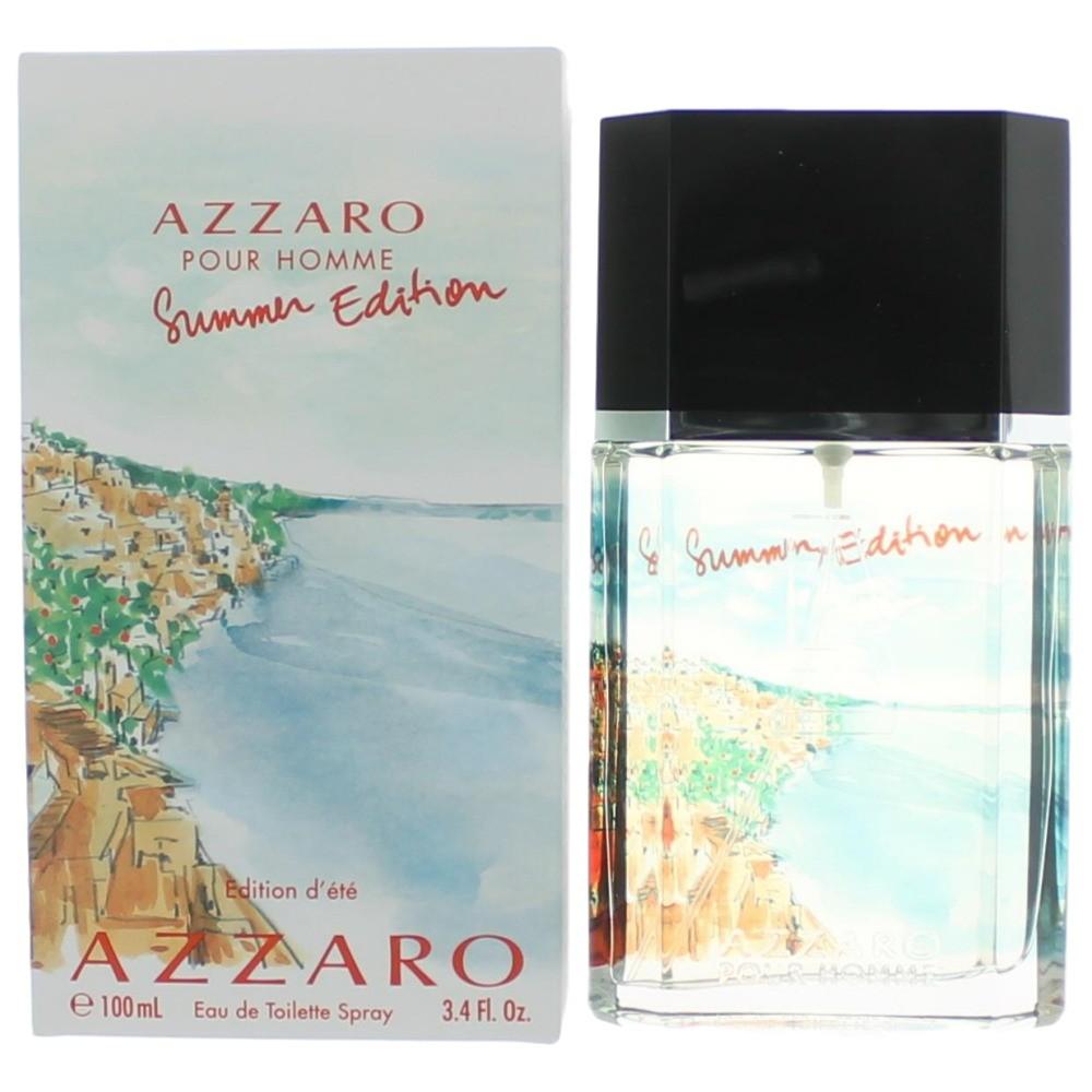 Azzaro Summer Edition by Azzaro, 3.4 oz EDT Spray for Men