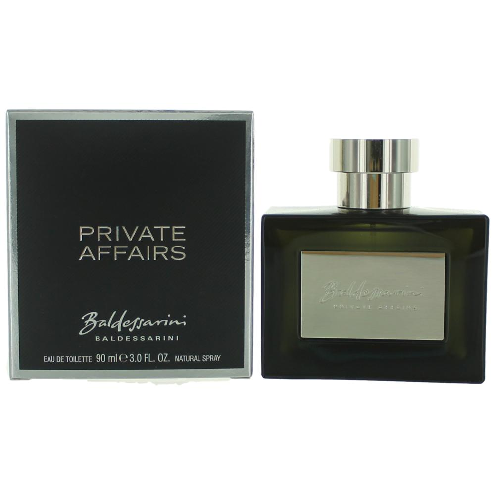 Baldessarini Private Affairs by Hugo Boss, 3 oz EDT Spray for Men