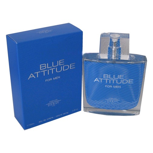 Blue Attitude by Deray, 3.4 oz Eau De Toilette Spray for Men