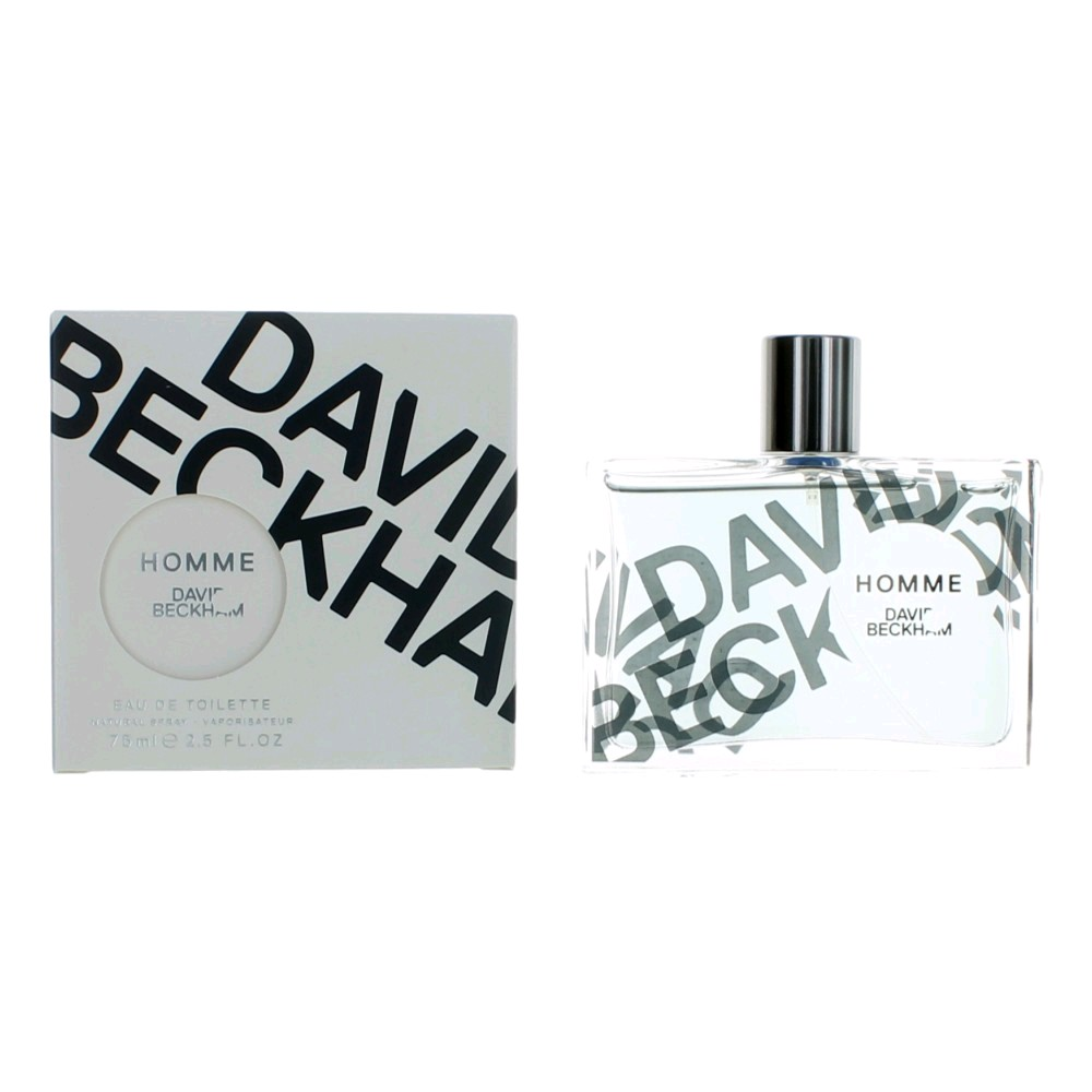David Beckham Homme by David Beckham, 2.5 oz Eau De Toilette Spray for Men