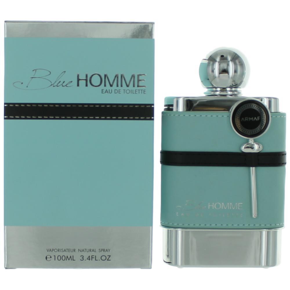 Blue Homme by Armaf, 3.4 oz Eau De Toilette Spray for Men