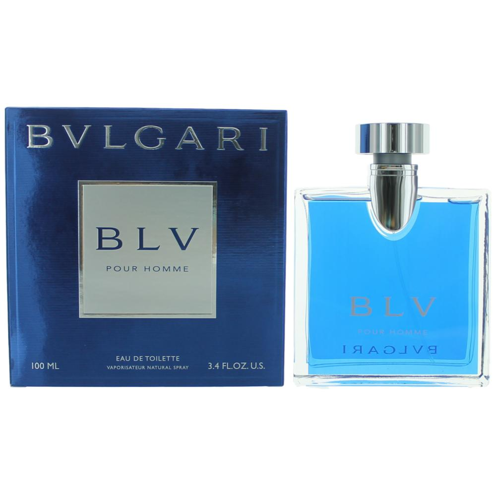 BLV Pour Homme by Bvlgari, 3.4 oz EDT Spray for Men Bulgari