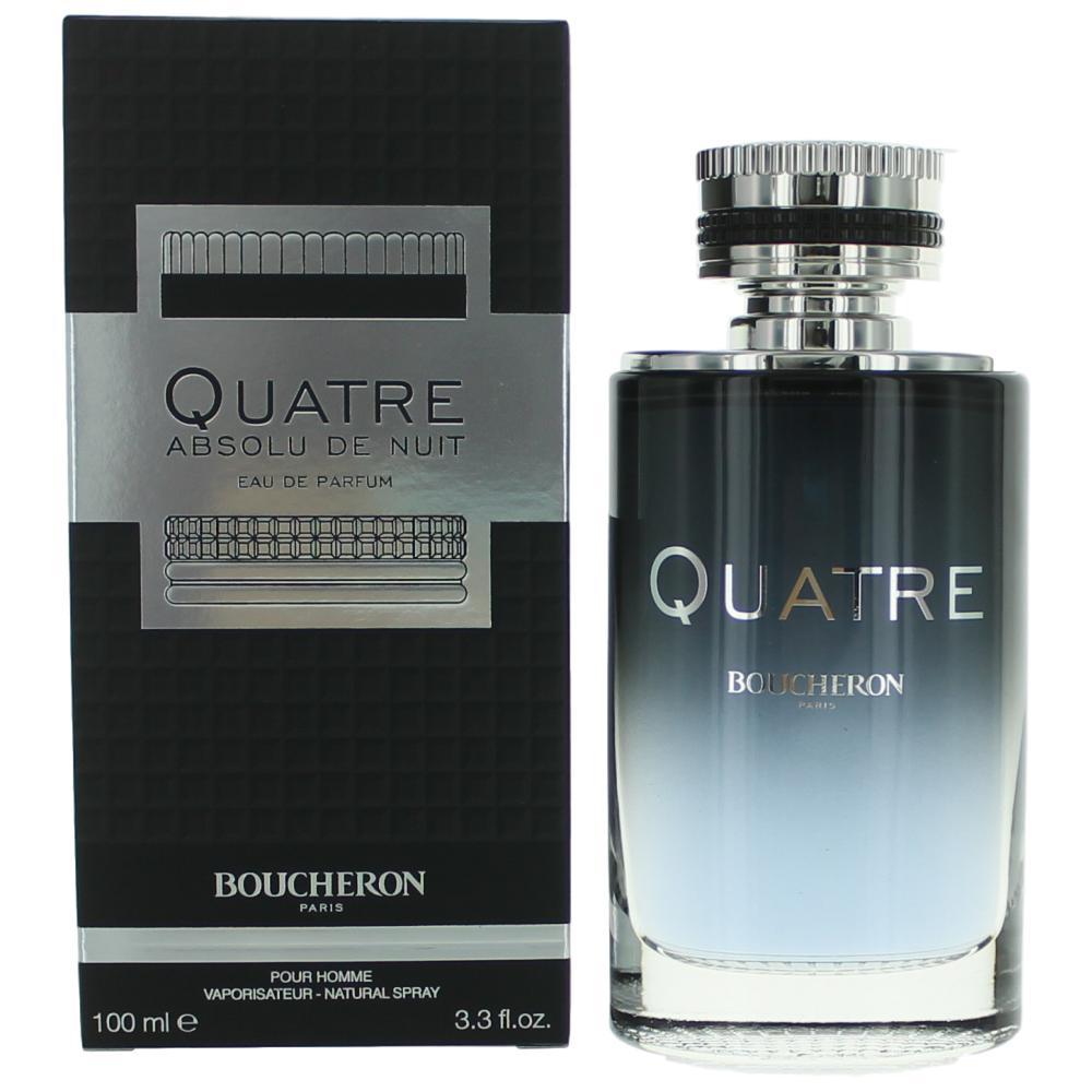Quatre Absolu De Nuit by Boucheron, 3.4 oz EDP Spray for Men