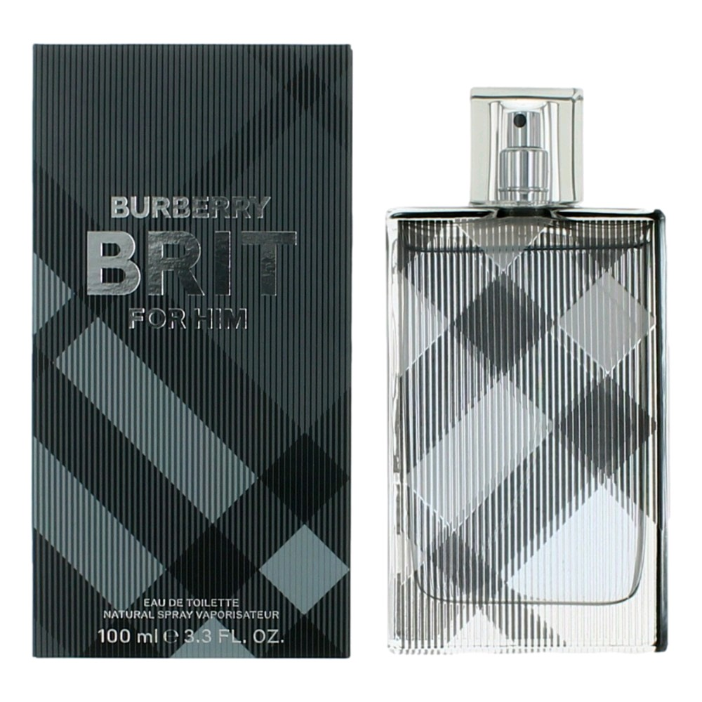Brit by Burberry, 3.3 oz EDT Spray for Men