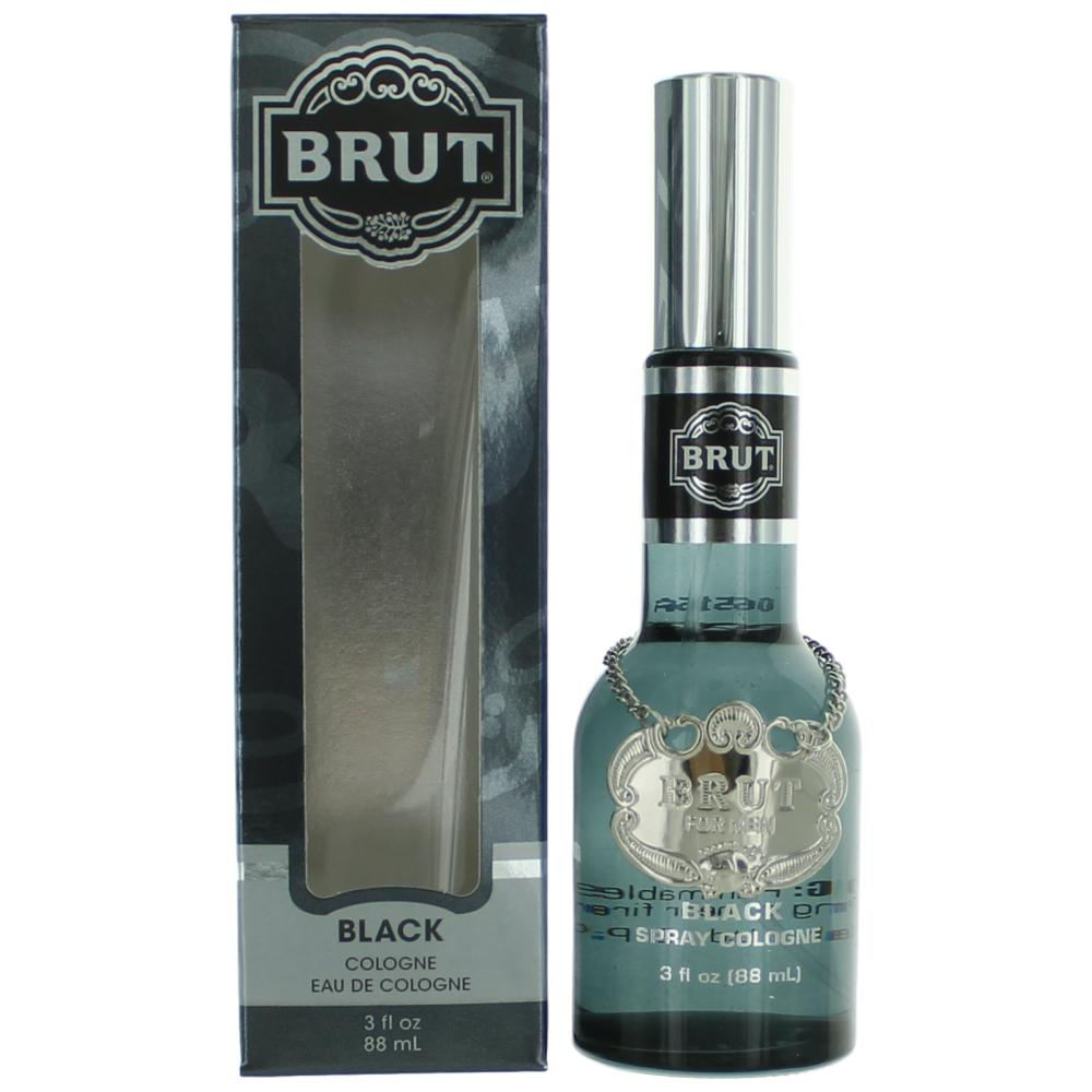 Brut Black by Brut, 3 oz Cologne Spray for Men