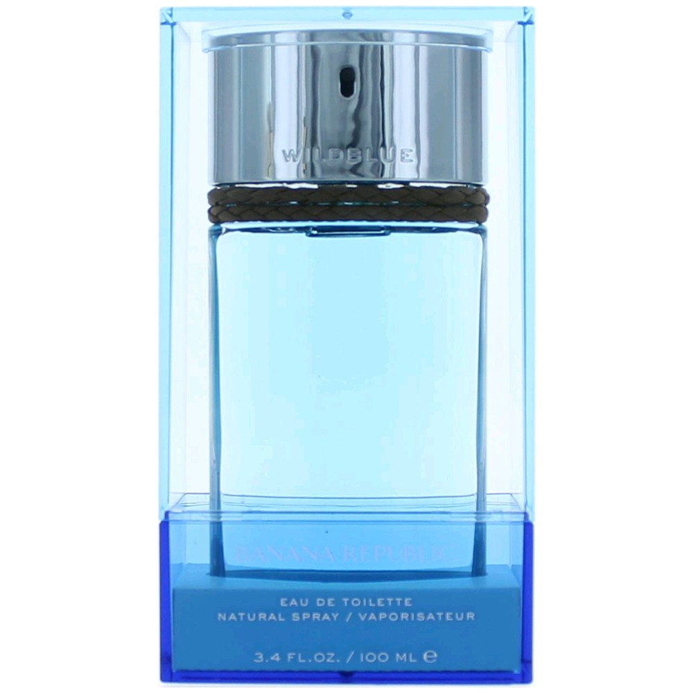 Wild Blue by Banana Republic, 3.4 oz EDT Spray for Men