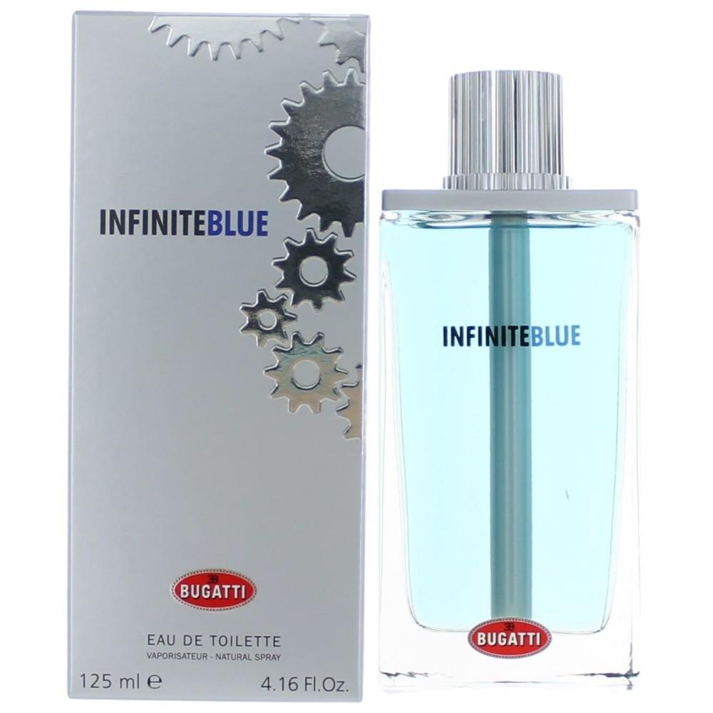 Infinite Blue by Bugatti, 4.16 oz Eau De Toilette Spray for Men