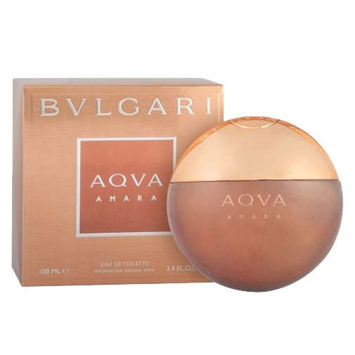 Aqva Amara by Bvlgari, 3.4 oz EDT Spray for Men