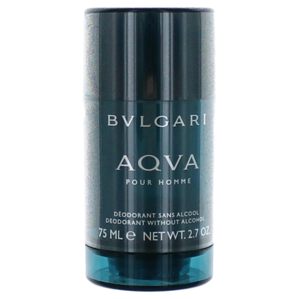 Aqva Pour Homme by Bvlgari, 2.7 oz Deodorant Stick for Men (Aqua)