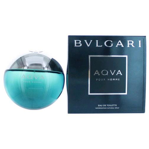 Aqva Pour Homme by Bvlgari, 3.4 oz Eau De Toilette Spray for men (Aqua)