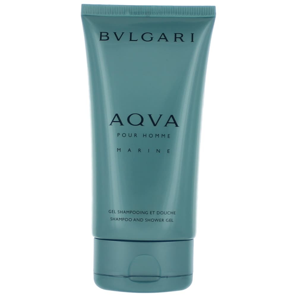 Aqva Marine by Bvlgari, 5 oz Shampoo and Shower Gel for Men ambvlaqm5sg