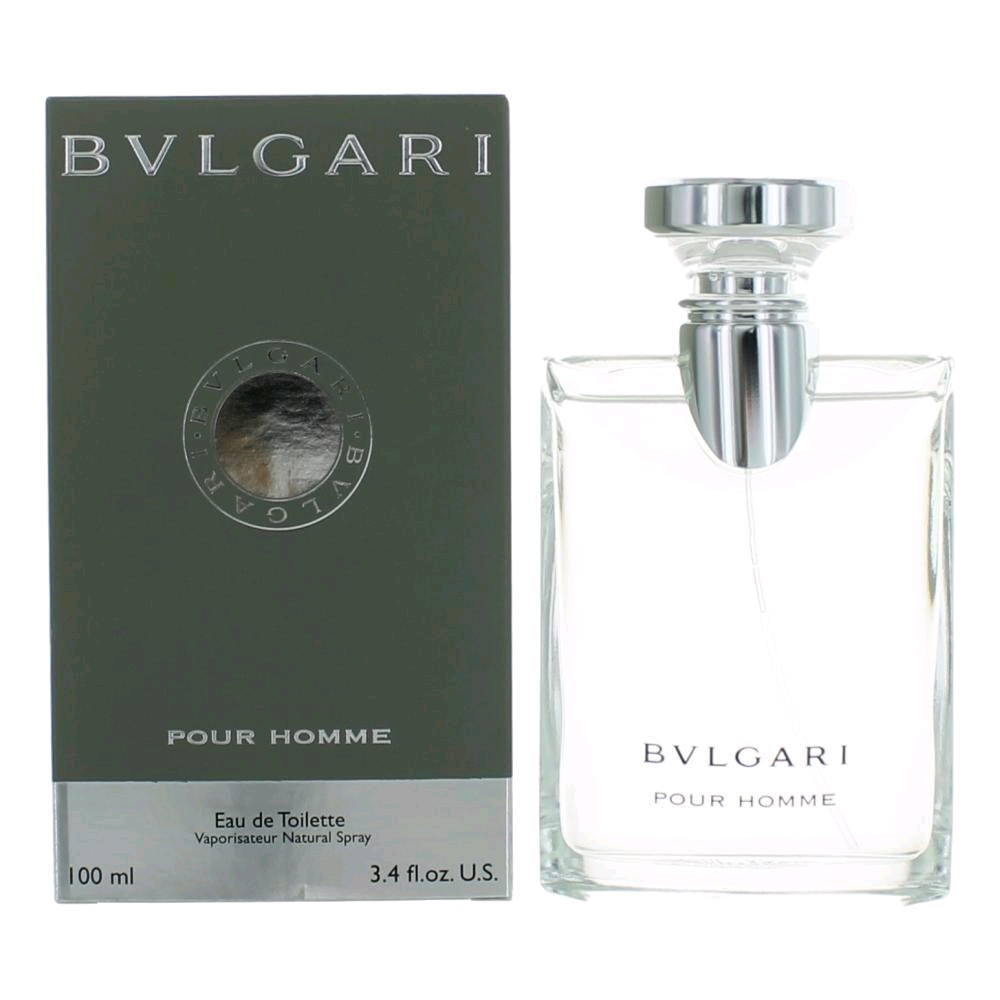 Bvlgari Pour Homme by Bvlgari, 3.4 oz EDT Spray for Men (Bulgari)