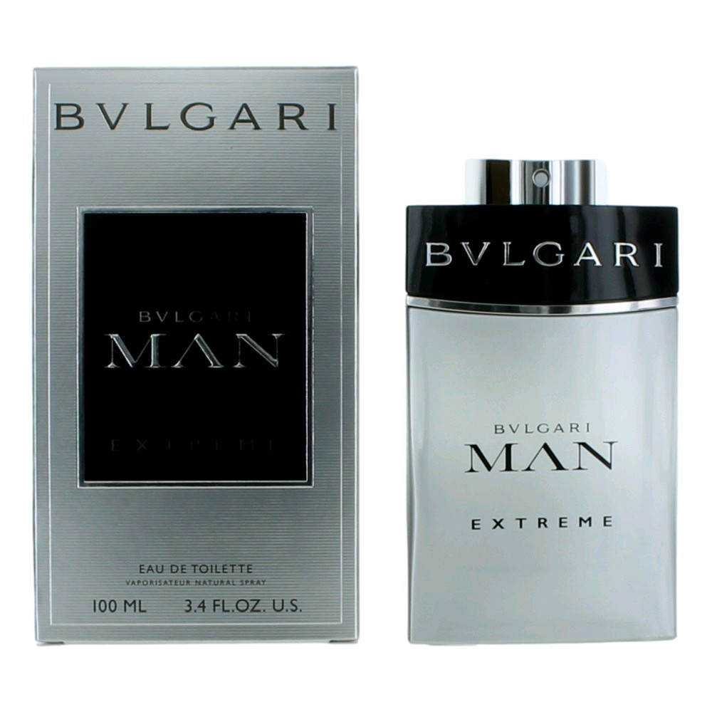 Bvlgari MAN Extreme by Bvlgari, 3.4 oz EDT Spray for Men