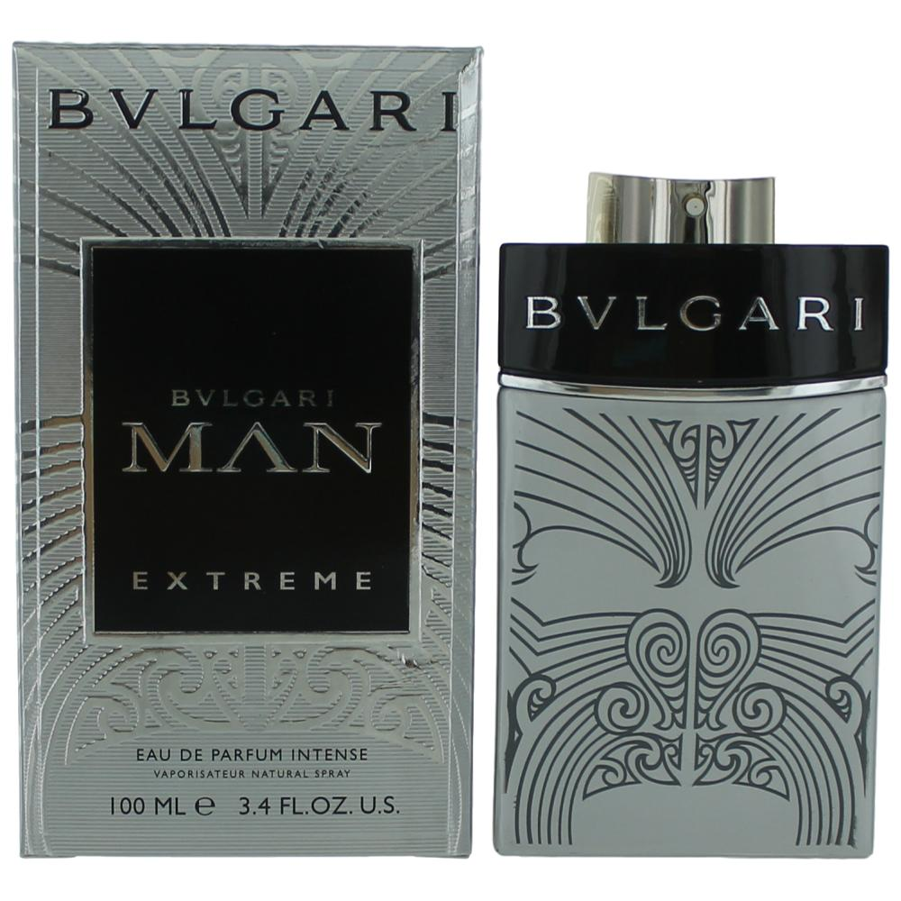 Bvlgari MAN Extreme Intense by Bvlgari, 3.4 oz EDP Spray for Men