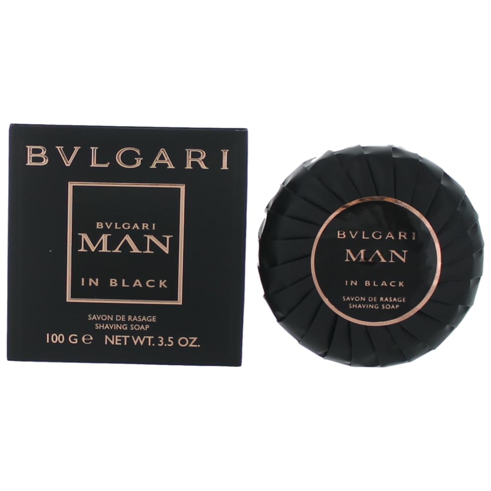 Bvlgari MAN in Black by Bvlgari, 3.5 oz Shaving Soap for Men