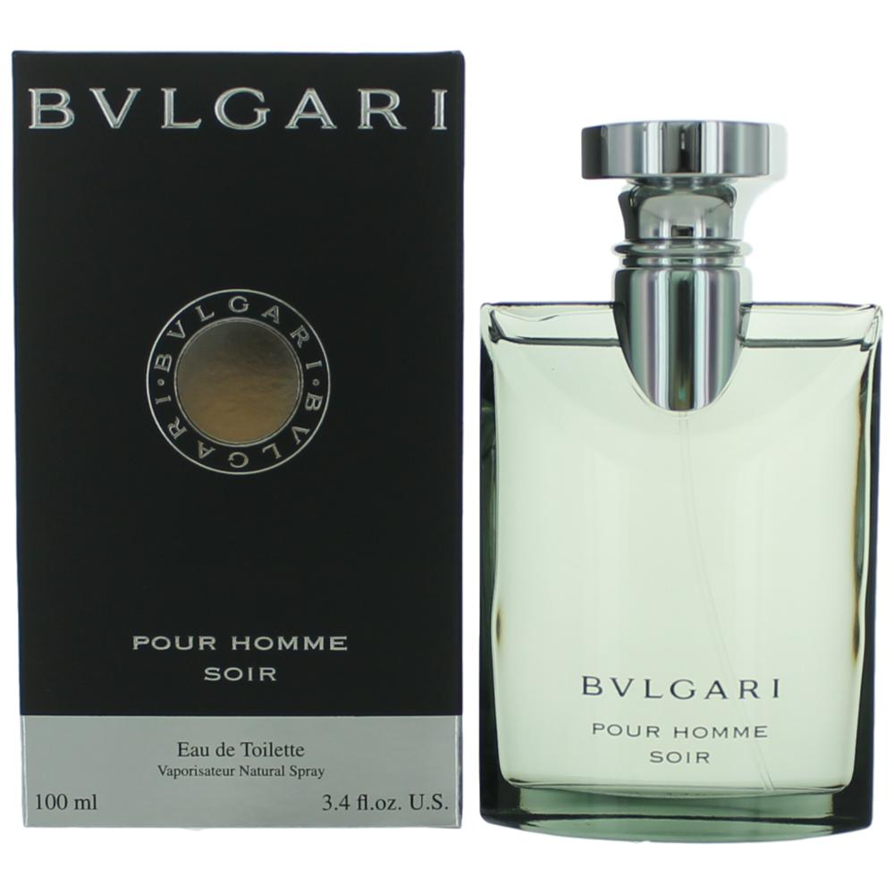Bvlgari Soir by Bvlgari, 3.4 oz EDT Spray for Men