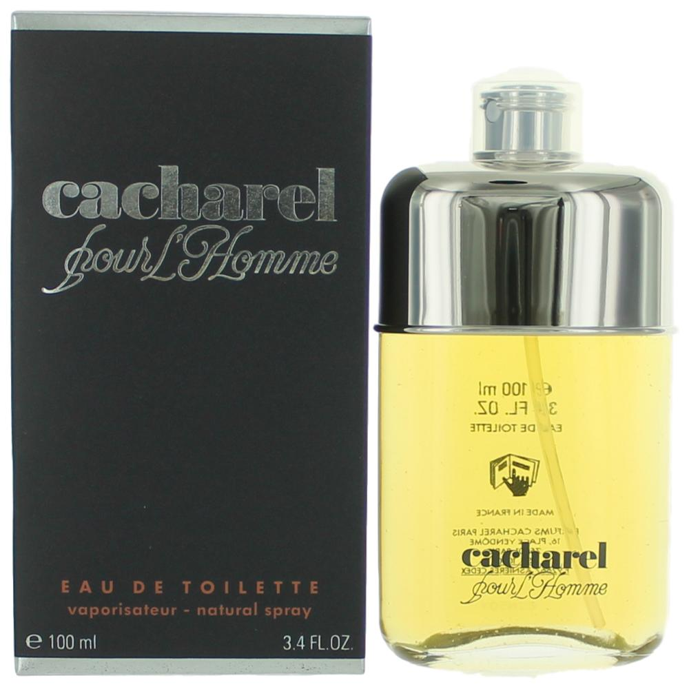 Cacharel Pour Homme by Cacharel, 3.4 oz EDT Spray for Men