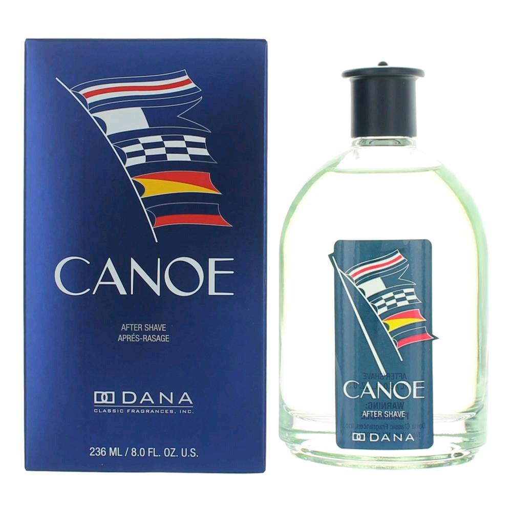 Canoe by Dana, 8 oz After Shave Splash for Men
