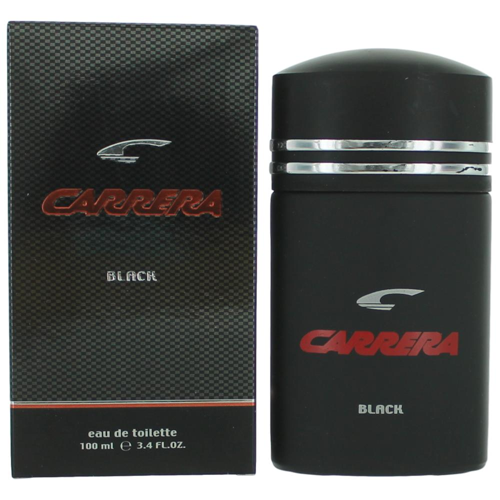 Carrera Black by Carrera, 3.4 oz Eau De Toilette Spray for Men