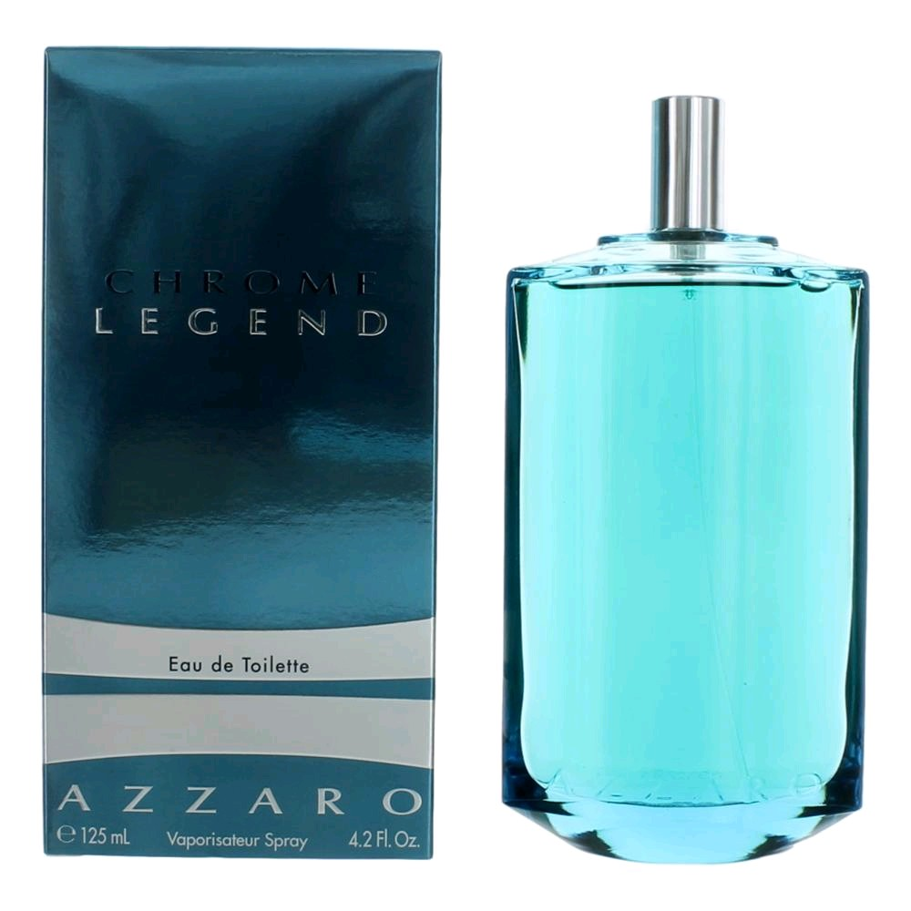 Chrome Legend by Azzaro, 4.2 oz EDT Spray for Men