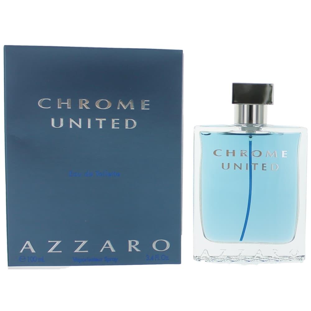 Chrome United by Azzaro, 3.4 oz Eau