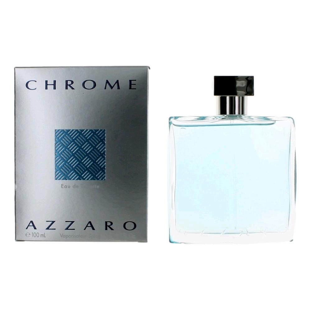 Chrome by Azzaro, 3.4 oz EDT Spray for Men