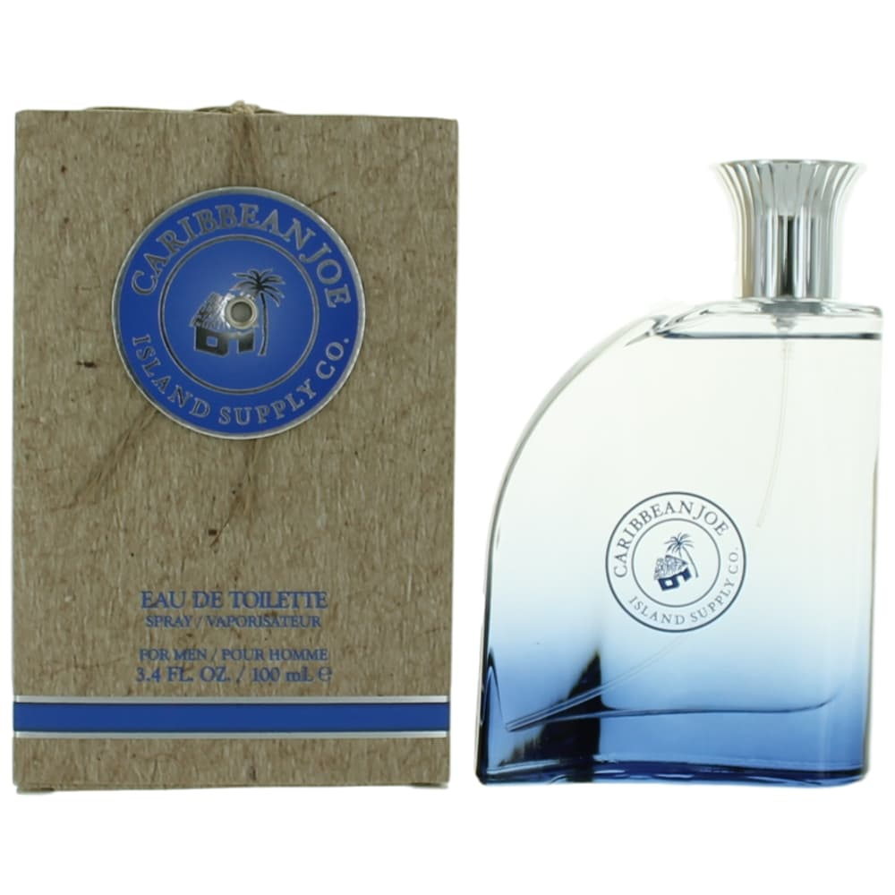 Caribbean Joe by Island Supply Co, 3.4 oz Eau De Toilette Spray for Men