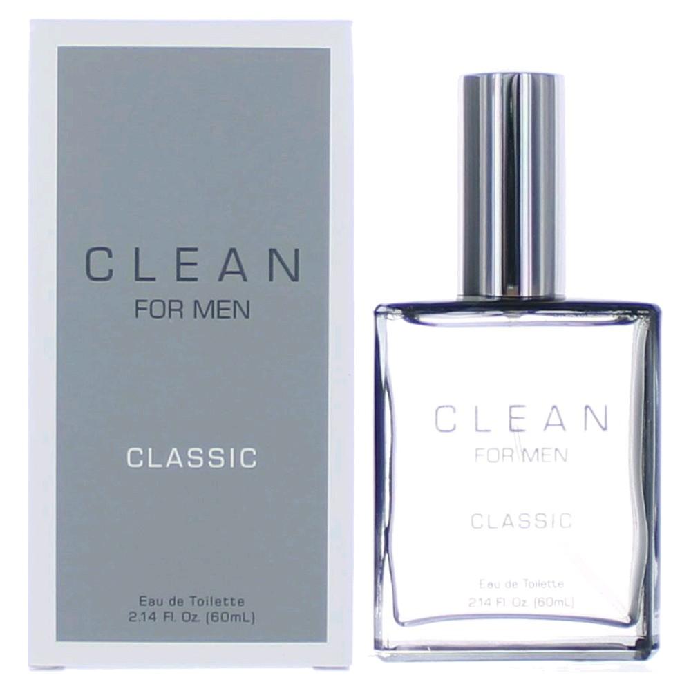 Clean Classic by Dlish, 2.14 oz Eau De Toilette Spray for Men