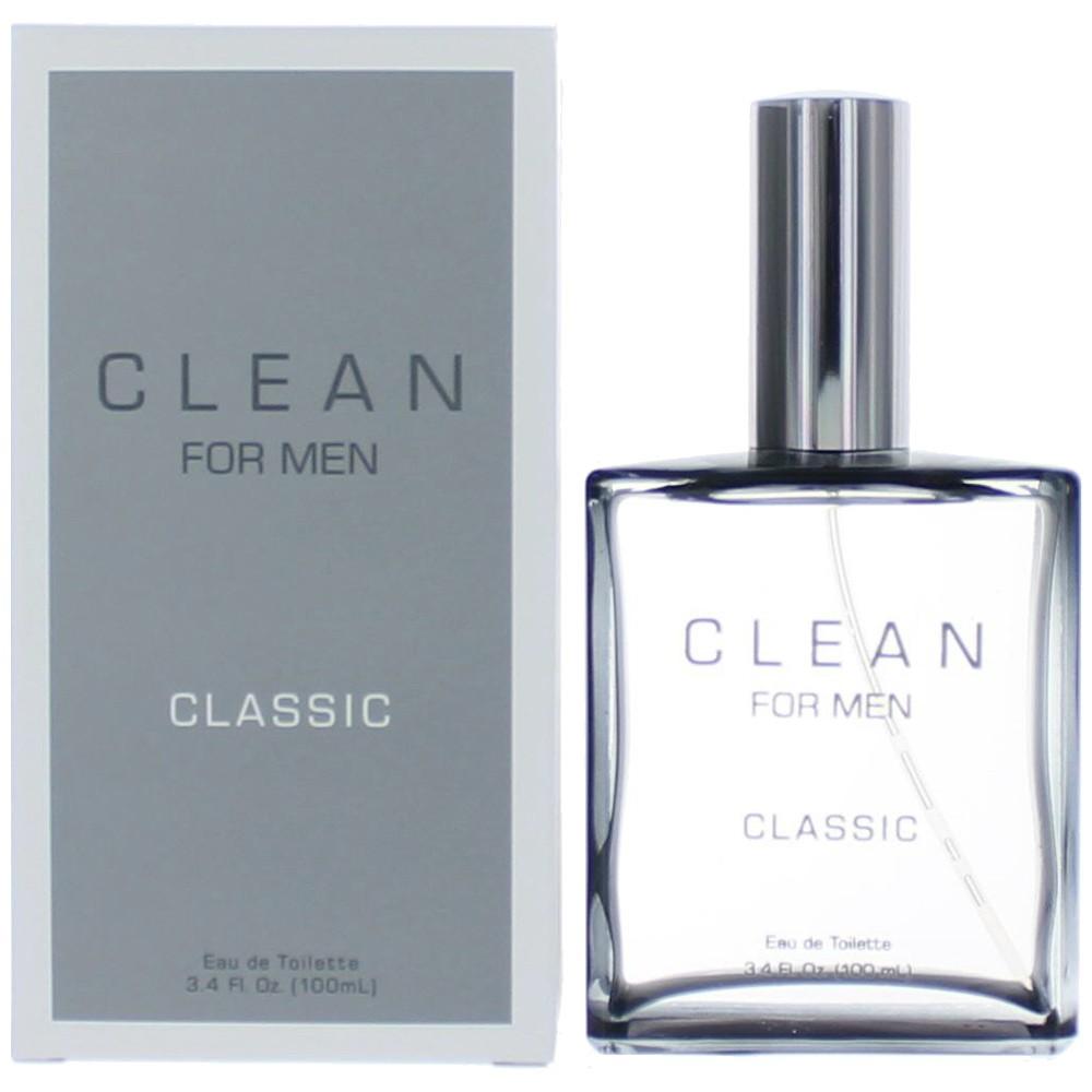 Clean Classic by Dlish, 3.4 oz Eau De Toilette Spray for Men
