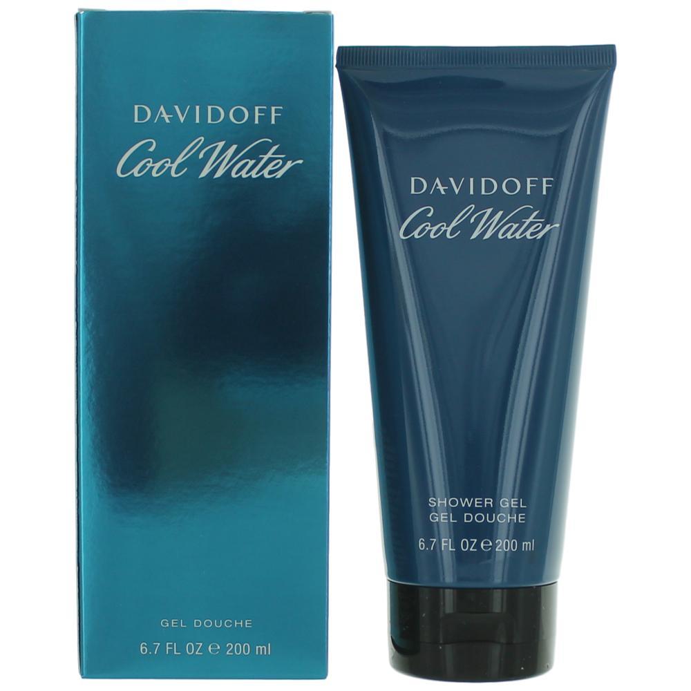 Cool Water by Davidoff, 6.7 oz Shower Gel for Men